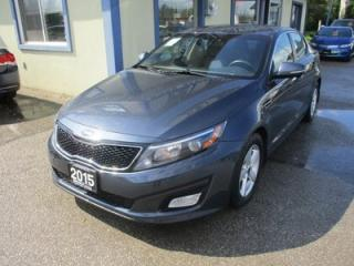 Used 2015 Kia Optima FUEL EFFICIENT GDI EDITION 5 PASSENGER 2.4L - DOHC.. HEATED SEATS.. CD/AUX/USB INPUT.. BLUETOOTH SYSTEM.. KEYLESS ENTRY.. for sale in Bradford, ON
