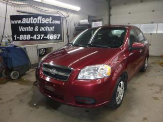 Used 2011 Chevrolet Aveo 4dr Sdn Ls for sale in St-Raymond, QC