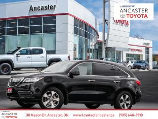 Used 2016 Acura MDX SH-AWD NAVI|SUNROOF|BLUETOOTH|CAMERA|LOADED for sale in Ancaster, ON