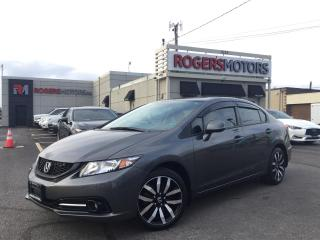 Used 2013 Honda Civic TOURING - NAVI - SUNROOF - LEATHER for sale in Oakville, ON