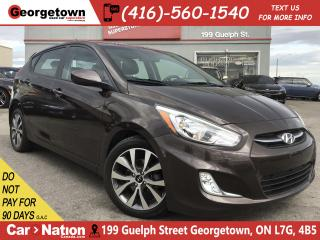 Used 2017 Hyundai Accent SE | SUNROOF | HEATED SEATS | BLUETOOTH | for sale in Georgetown, ON