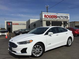 Used 2019 Ford Fusion Hybrid SEL - NAVI - SUNROOF - LEATHER for sale in Oakville, ON