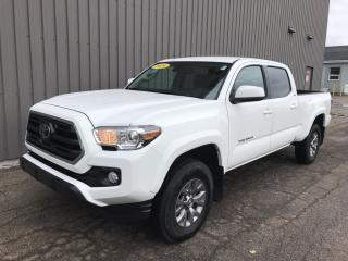 Used 2019 Toyota Tacoma SR5 V6 4X4 DOUBLE CAB | FACTORY WARRANTY | LOW KMs | BACKUP CAMERA for sale in Charlottetown, PE