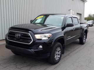 Used 2019 Toyota Tacoma SR5 V6 4X4 DOUBLE CAB WITH VERY LOW KMs + FACTORY WARRANTY + BACKUP CAMERA! for sale in Charlottetown, PE
