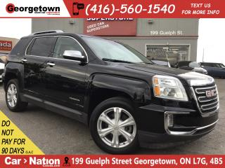 Used 2017 GMC Terrain SLT | NAV | LEATHER | ROOF | AWD | CAMERA | V6 for sale in Georgetown, ON