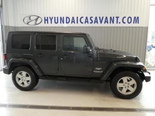 Used 2010 Jeep Wrangler Unlimited Sahara for sale in St-Hyacinthe, QC
