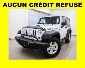 Used 2013 Jeep Wrangler SPORT 4X4 MAGS 17 PO. *BAS KILOMÉTRAGE* for sale in Mirabel, QC
