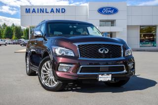 Used 2016 Infiniti QX80 7 Passenger LOCALLY OWNED for sale in Surrey, BC