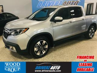 Used 2019 Honda Ridgeline Touring CLEAN CARFAX, ONE OWNER,  FRONT 3M PROTECTION FILM. for sale in Calgary, AB
