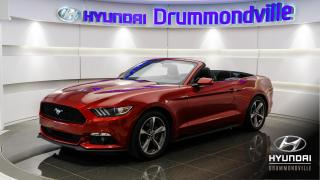 Used 2015 Ford Mustang V6 + GARANTIE + CAMERA + MAGS + WOW !! for sale in Drummondville, QC