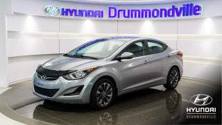 Used 2015 Hyundai Elantra GL + MAGS + CRUISE + BLUETOOTH + A/C !! for sale in Drummondville, QC
