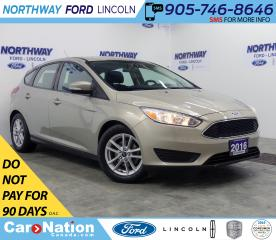 Used 2016 Ford Focus SE | HTD SEATS | BACK UP CAM | KEYLESS ENTRY | for sale in Brantford, ON