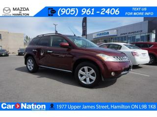 Used 2006 Nissan Murano SL | AS-TRADED | SUNROOF | HEATED SEATS | AWD for sale in Hamilton, ON