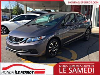 Used 2015 Honda Civic EX ,toit+bluetooth+mags+camera for sale in Île-Perrot, QC