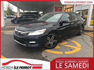Used 2017 Honda Accord Touring , toit , cuir , gps  . for sale in Île-Perrot, QC