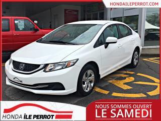 Used 2014 Honda Civic LX , parfait pour etudiant for sale in Île-Perrot, QC