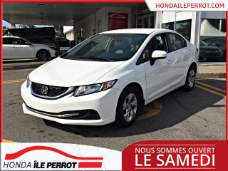 Used 2014 Honda Civic LX , bluetooth, a/c ,groupe electrique for sale in Île-Perrot, QC