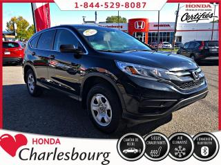 Used 2016 Honda CR-V LX 2RM ****36 917 KM**** for sale in Charlesbourg, QC