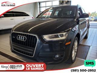 Used 2014 Audi Q3 *TECHNIK*CECI EST UNE AUDI Q3 2.0lT TEC for sale in Québec, QC