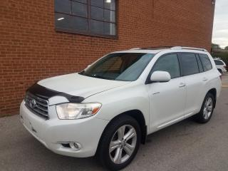 Used 2009 Toyota Highlander limited-navi-backup cam-7pass for sale in Oakville, ON