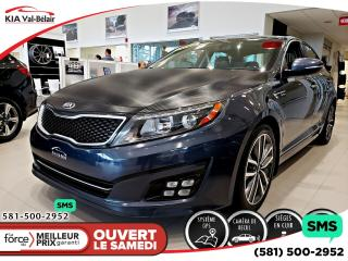 Used 2014 Kia Optima *SX TURBO* CUIR*GPS*SIÈGES CHAUFFANTS/VE for sale in Québec, QC