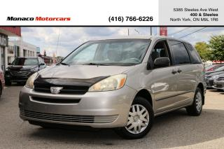 Used 2005 Toyota Sienna CE 7-Passenger - NEW TIRES|CERTIFIED|AC for sale in North York, ON