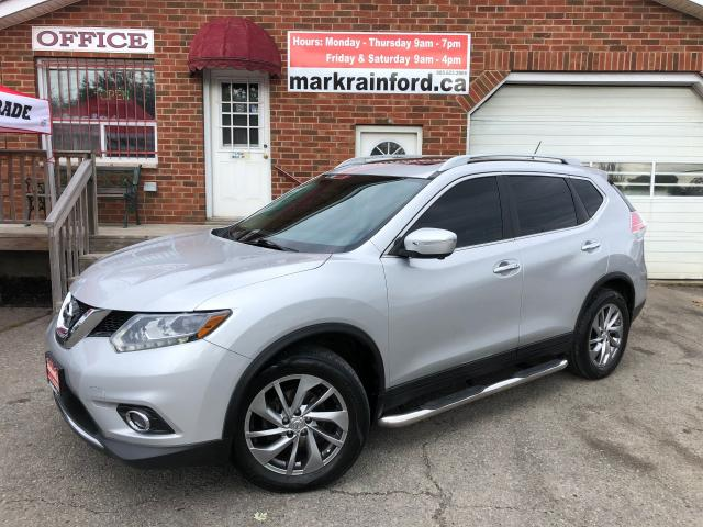 2014 Nissan Rogue SL AWD Pano Roof Nav Leather Rem Start Pwr Gate BT