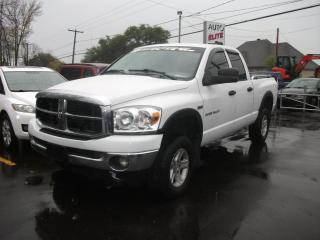 Used 2007 Dodge Ram 1500 Cabine quad 4RM, 140,5 po SLT for sale in St-Sulpice, QC