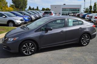 Used 2015 Honda Civic EX ***voiture jamais accidenté*** for sale in Longueuil, QC