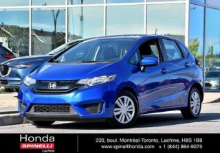 Used 2016 Honda Fit LX TRES BAS KM AUTO BAS KM AUTO BLUETOOTH CRUISE for sale in Lachine, QC