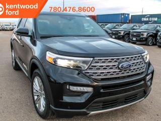 Used 2020 Ford Explorer LIMITED 300A, 4WD, 2.3L Ecoboost, Hand Free Liftgate with Foot Activation, Power Heated/Cooled Seats, Heated Steering Wheel, Lane Keeping System, Reverse Camera System, Navigation, Moonroof for sale in Edmonton, AB