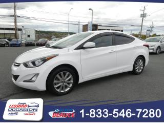 Used 2016 Hyundai Elantra Ensemble Allure sport AUTOMATIQUE for sale in St-Georges, QC