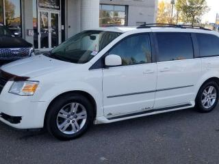 Used 2010 Dodge Grand Caravan SXT, NAVI, DVD, POWER SLIDING DOORS, HEATED SEATS AND MORE for sale in Edmonton, AB