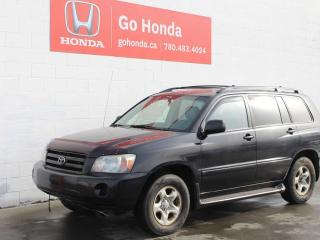 Used 2004 Toyota Highlander for sale in Edmonton, AB