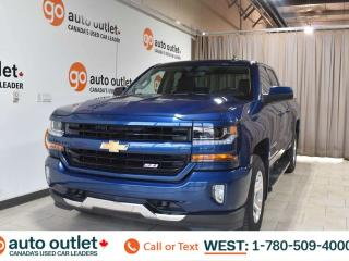 Used 2016 Chevrolet Silverado 1500 Lt, 5.3L V8, 4x4, Double cab, OnStar navigation, Heated cloth seats, Backup camera, Buetooth for sale in Edmonton, AB