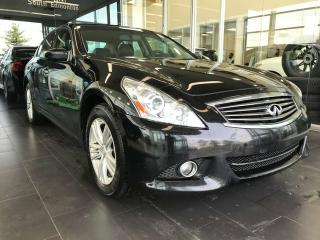 Used 2011 Infiniti G37 Sedan LUXURY AWD, ACCIDENT FREE, SUNROOF, POWER HEATED LEATHER SEATS, BACK-UP CAMERA for sale in Edmonton, AB