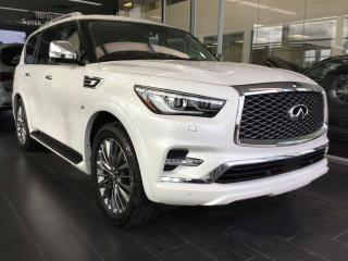 Used 2019 Infiniti QX80 LUXE PROACTIVE AWD for sale in Edmonton, AB