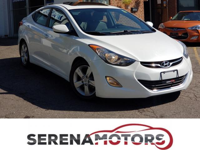 2013 Hyundai Elantra GLS | MANUAL | SUNROOF | ONE OWNER | NO ACCIDENTS