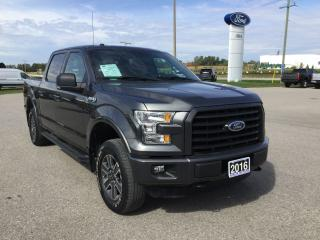 Used 2016 Ford F-150 XLT | 4X4 | Remote Start for sale in Harriston, ON