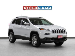Used 2014 Jeep Cherokee 4x4 Limited Navigation Leather Sunroof Backup Cam for sale in Toronto, ON