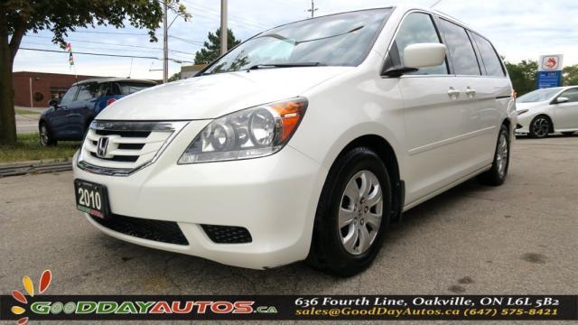 2010 Honda Odyssey EX|LOW KM|DVD|ALLOYS|POWER LOCKS/WINDOWS|CERTIFIED