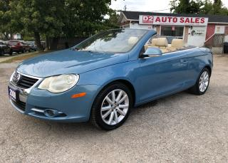 Used 2008 Volkswagen Eos Accident Free/Automatic/Comes Certified/Bluetooth for sale in Scarborough, ON