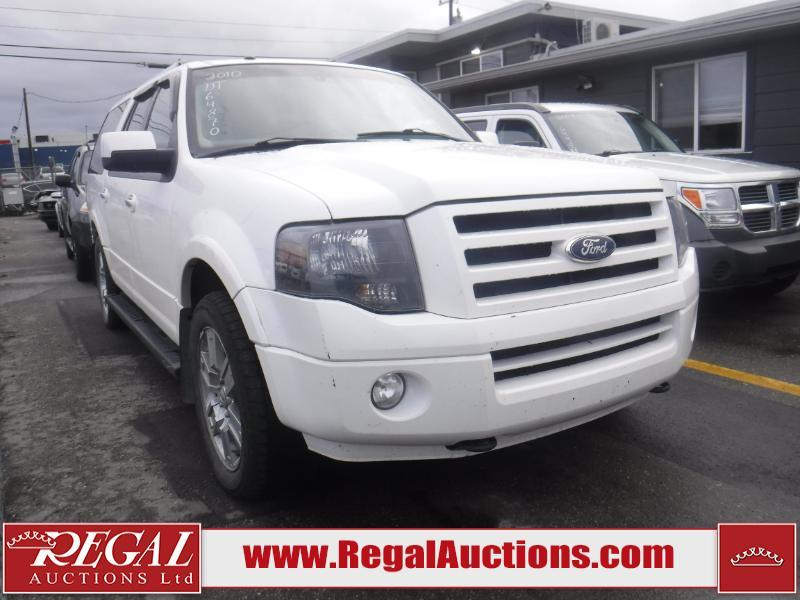 Used 2010 Ford Expedition Max Limited 4d Utility 4wd For