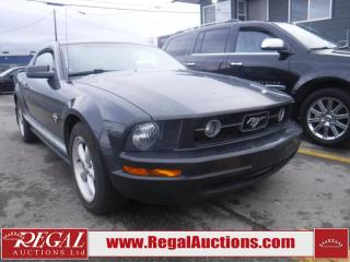 Used 2009 Ford MUSTANG BASE 2D COUPE RWD for sale in Calgary, AB