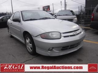 Used 2005 Chevrolet CAVALIER  2D COUPE FWD for sale in Calgary, AB