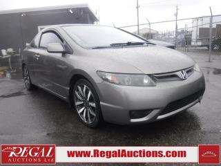 Used 2008 Honda Civic SI 2D Coupe FWD for sale in Calgary, AB