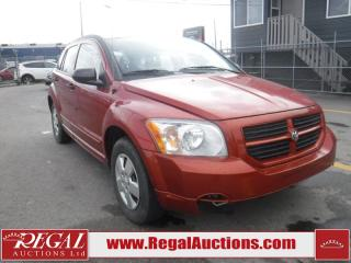 Used 2007 Dodge Caliber 4D Hatchback for sale in Calgary, AB