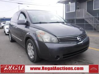 Used 2007 Nissan Quest S 4D Wagon for sale in Calgary, AB