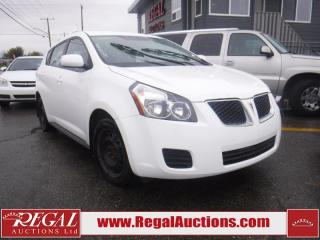 Used 2009 Pontiac VIBE BASE 4D HATCHBACK FWD for sale in Calgary, AB