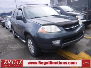 Used 2003 Acura MDX 4D Utility 4WD for sale in Calgary, AB